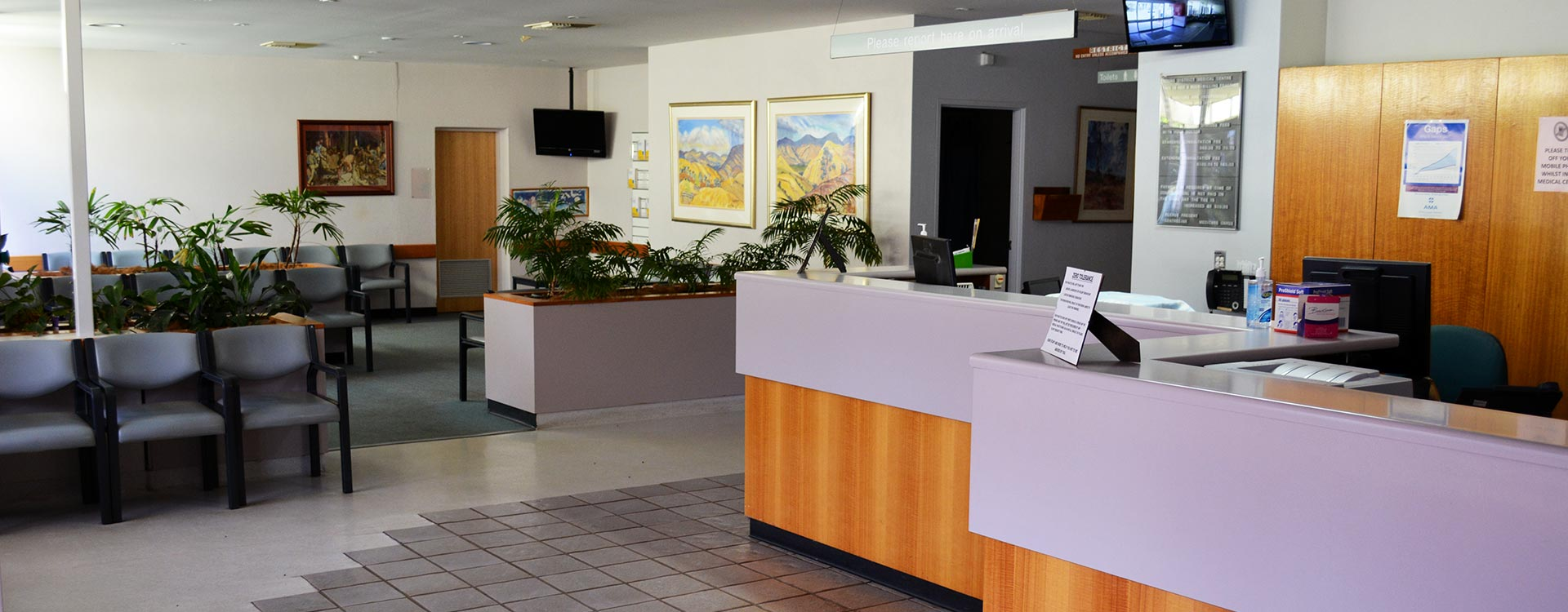 Young Disctrict Medical Centre reception